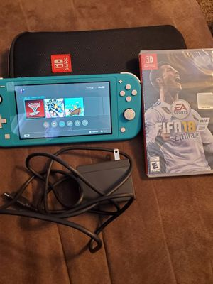 Nintendo Switch Lite +Fifa18 +case+charger for Sale in Mesa, AZ