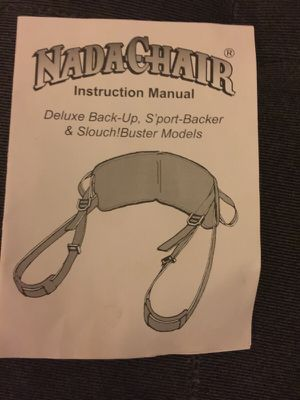 NADA Chair - Tan for Sale in Tacoma, WA
