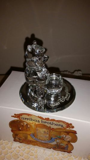 Hand crafted crystal glass Disney Winnie The Pooh collectible for Sale in Davie, FL