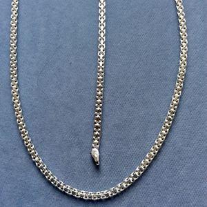 Ladies 2pc Bismark Set Includes Necklace + Bracelet 3mm Solid Sterling Silver Italy 925 *Ship Nationwide Or Pickup Boca Raton for Sale in Boca Raton, FL