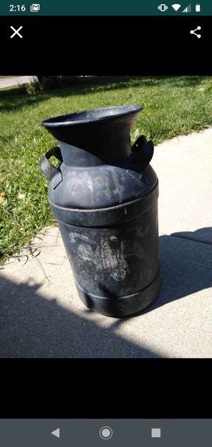Steel milkjug antique for Sale in Oswego, IL