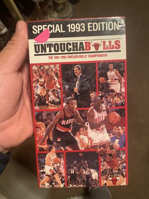 BULLS VHS for Sale in North Chicago, IL