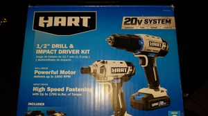 Hart, Drill and Impact.... brand new open box for Sale in Mesa, AZ