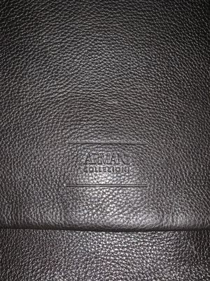 Armani leather bag for Sale in Beaumont, CA