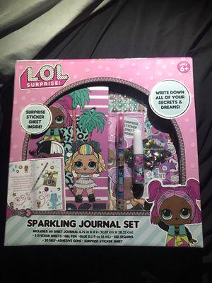 LOL doll journal set for Sale in Garden Grove, CA