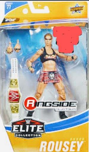 New WWE ELITE Collection Ronda Rousey Action Figure. for Sale in Apopka, FL