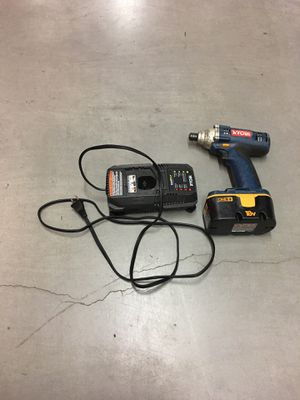 Ryobi tools impact drill and charger and battery for Sale in Mount Laurel Township, NJ