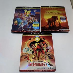 Disney 4K Blu-ray Movies for Sale in Euclid, OH