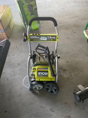 Open box electric 2000 psi 1.2gpm retails for 280 for Sale in Miramar, FL