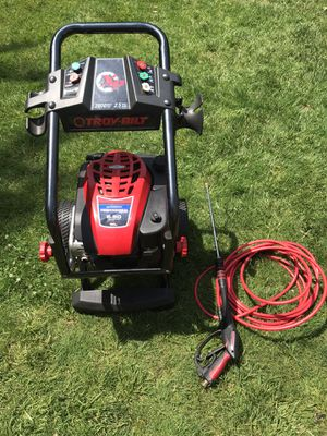 Like New Troy-Bilt 2800 PSI 2.3 GPM Pressure Washer / Power Washer for Sale in Blue Bell, PA