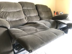 Dual sofa set 4 total recliners for Sale in West Palm Beach, FL