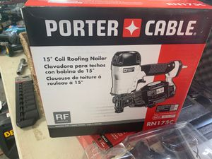 Porter cable roofer nail gun new for Sale in Atkinson, NH