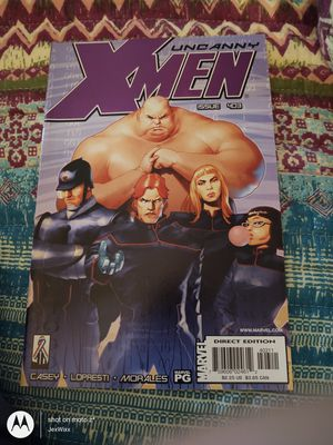 The Uncanny X-Men No 403 March 2002 for Sale in Walbridge, OH