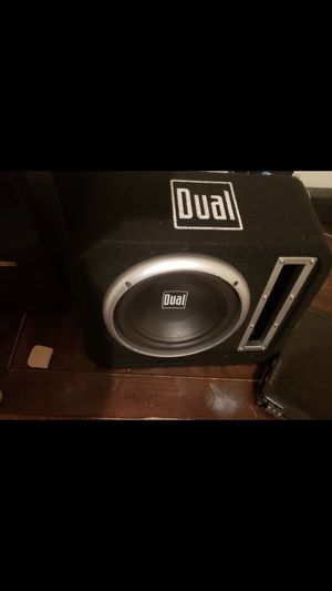 Amp and subwoofer for Sale in Wheaton, MD