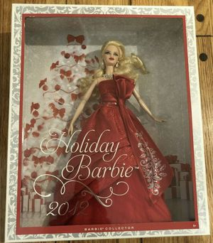 New MISB Mattel Holiday Barbie 2012 for Sale in Arcadia, CA