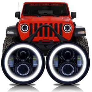 """Led headlights 7"""" for jeep jk &jl for Sale in San Diego, CA"""