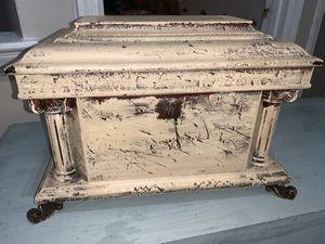 Wooden antique jewelry box (it's pretty heavy) for Sale in Washington, DC