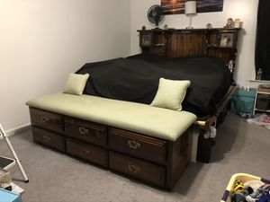 King bed frame for Sale in Winchester, VA