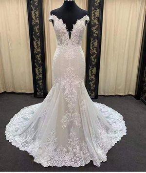 Off the Shoulder Mermaid Wedding Dress for Sale in Norfolk, VA