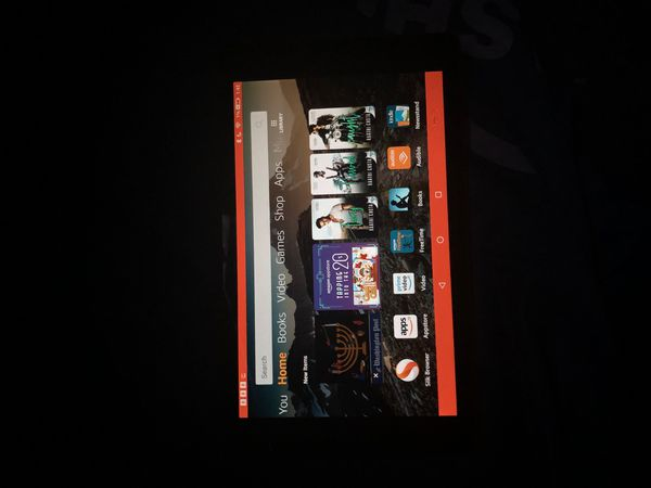 """Amazon Fire HD 8 Tablet (8"""" HD Display, 16 GB) - Red"""
