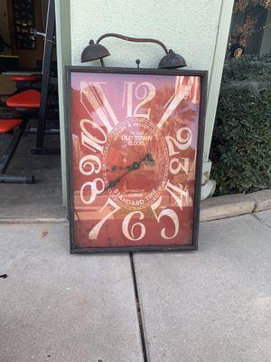 Decorative antique clock for Sale in Fresno, CA