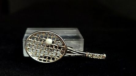 "Vintage GERRY'S Pin Brooch Silver Toned with Ball Enamel Approximately 1.5"" for Sale in East Providence,  RI"