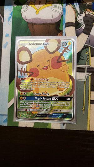 Pokemon Dedenne GX for Sale in Pittsburgh, PA