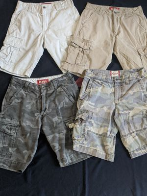 Mens Cargo shorts Levi's for Sale in Denver, CO