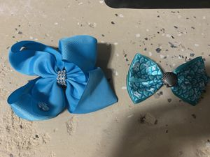 Jojo siwa and original Disney store the little mermaid movie hair bow for Sale in Fort Lauderdale, FL