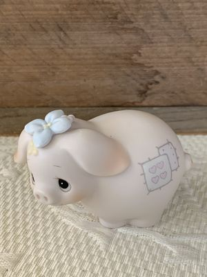"Precious Moment Porcelain 1982 ""Pig"" Figurine for Sale in Danville, CA"