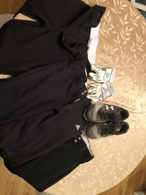 Softball gear, cleats, gloves and pants for Sale in Carrboro, NC