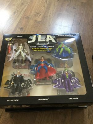 Justice League Of America collection 3 action figures for Sale in Freehold, NJ