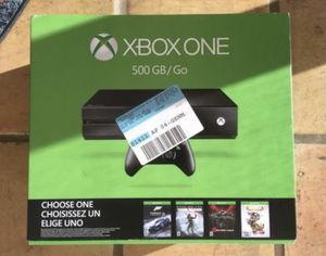 Brand New Xbox One System - Name Your Game Bundle for Sale in Miami, FL
