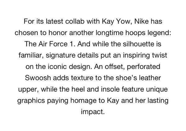 Air Force 1 - Kay Yow
