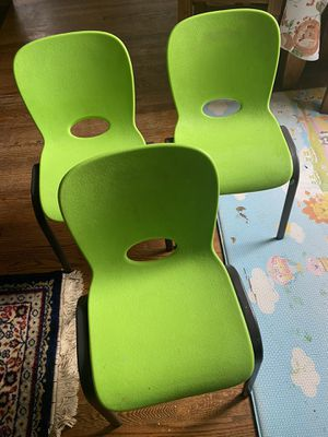 3 Classroom chair for kids for Sale in Fairfax, VA