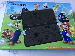 Like new adult owned Nintendo 3ds special edition super Mario black they don't sell them anymore! for Sale in Everett, WA