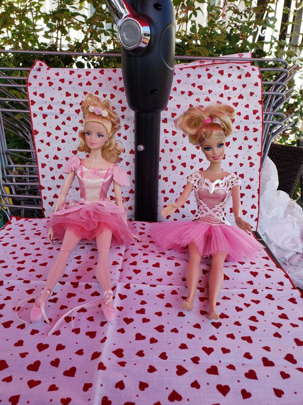 Ballerina Barbies (x2)