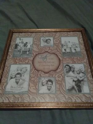 Faith picture frame for Sale in Norfolk, VA