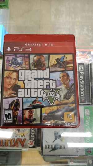 Grand theft v ps3 brand new for Sale in TEMPLE TERR, FL