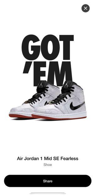 Jordan 1 mid 11.5 for Sale in Tacoma, WA
