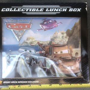 2011 - NIB - DISNEY MOVIE REWARDS - CARS 2 COLLECTIBLE LUNCHBOX - EXCLUSIVE for Sale in Yorba Linda, CA