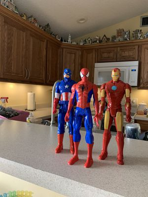 Super hero figures for Sale in Boca Raton, FL