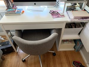 WHITE IKEA DESK ONLY, **NO CHAIR** for Sale in Chula Vista, CA