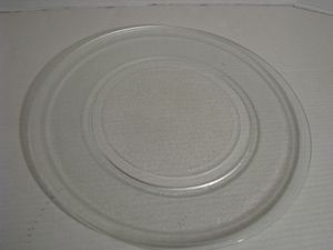 "Genuine 16"" GE Glass Microwave Turntable Plate and Support for Sale in Zephyrhills, FL"