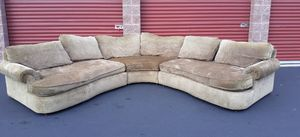Excellent sectional couch in awesome condition for Sale in Kirkland, WA