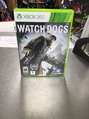 Xbox 360 Watch Dogs Game for Sale in Matawan, NJ