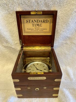 Antique Waltham ships chronometer for Sale in Cape Coral, FL