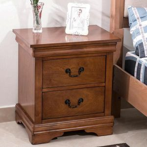 2 Drawer Brown Nightstand for Sale in La Puente, CA