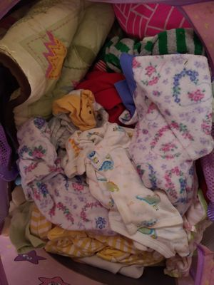 Baby clothes new born 3 months crib bedding too for Sale in Murfreesboro, TN