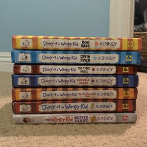 7 Diary Of A Wimpy Kid Book Bundle for Sale in Huntington Beach, CA